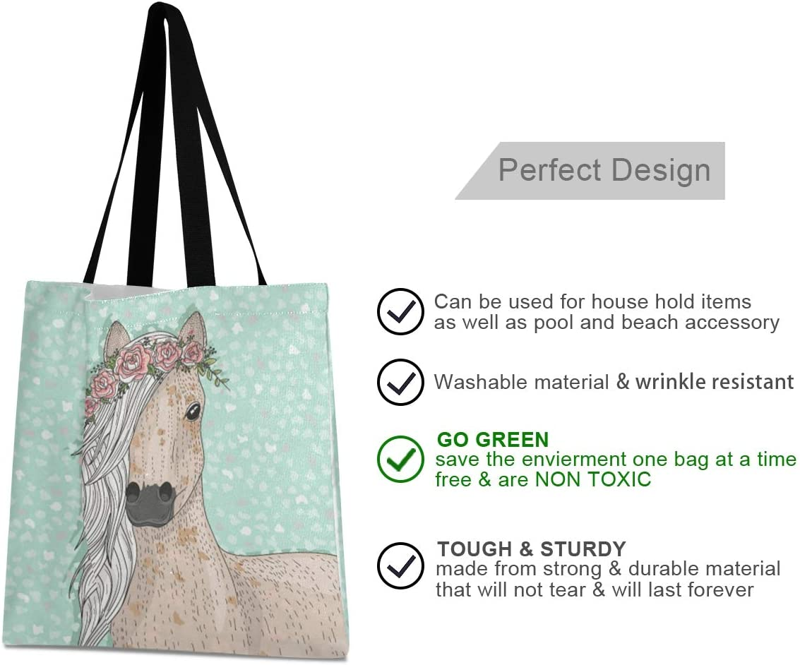 FIX*~Grocery tote bag Gym bag canvas tote bag Books carrying bag