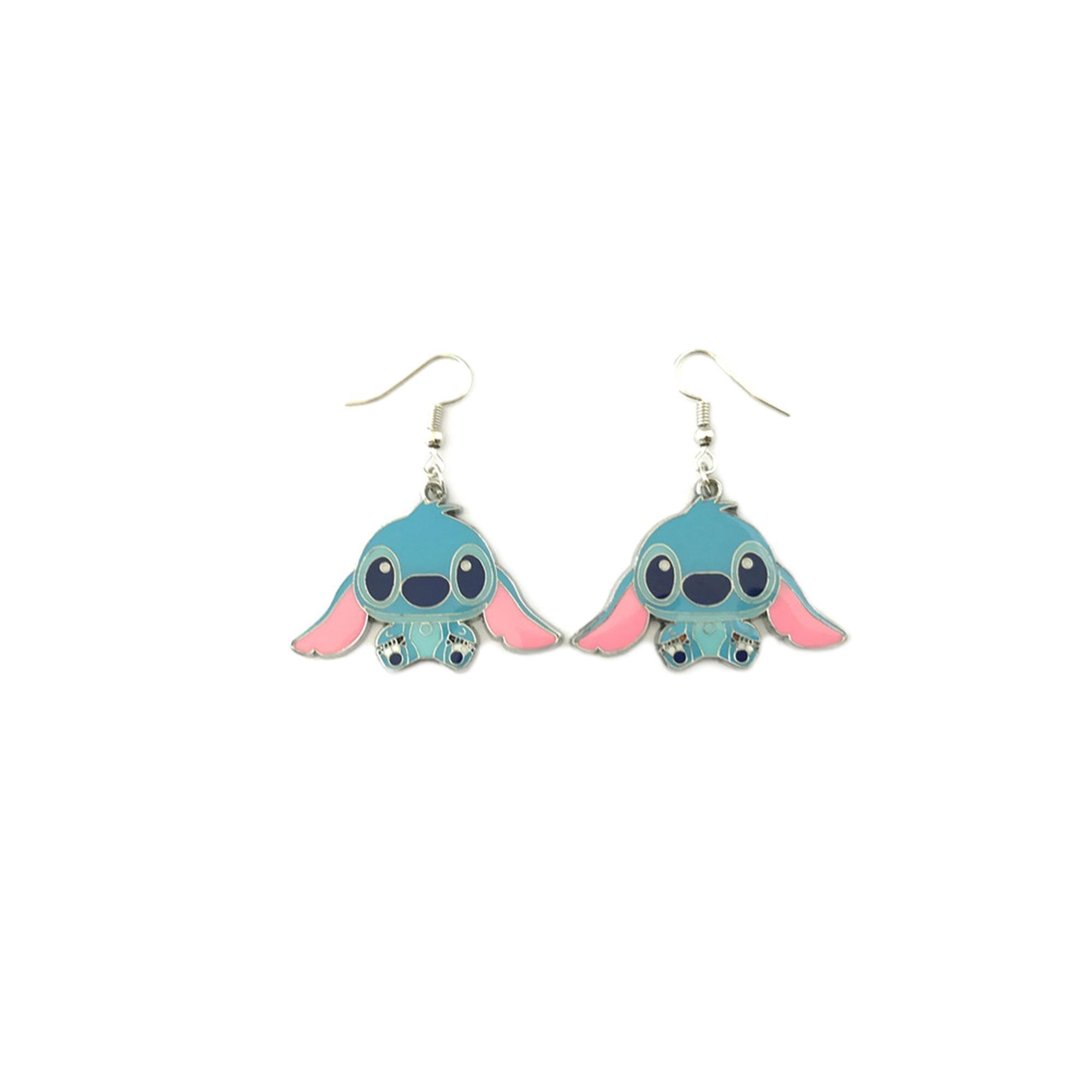 Athena Brand Movie Stitch of Lilo & Stitch Dangle Earrings In Gift Box