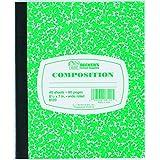 Becker's School Supplies 8120 Becker'S - Cuaderno de composición, tamaño pequeño, 12 unidades, color verde