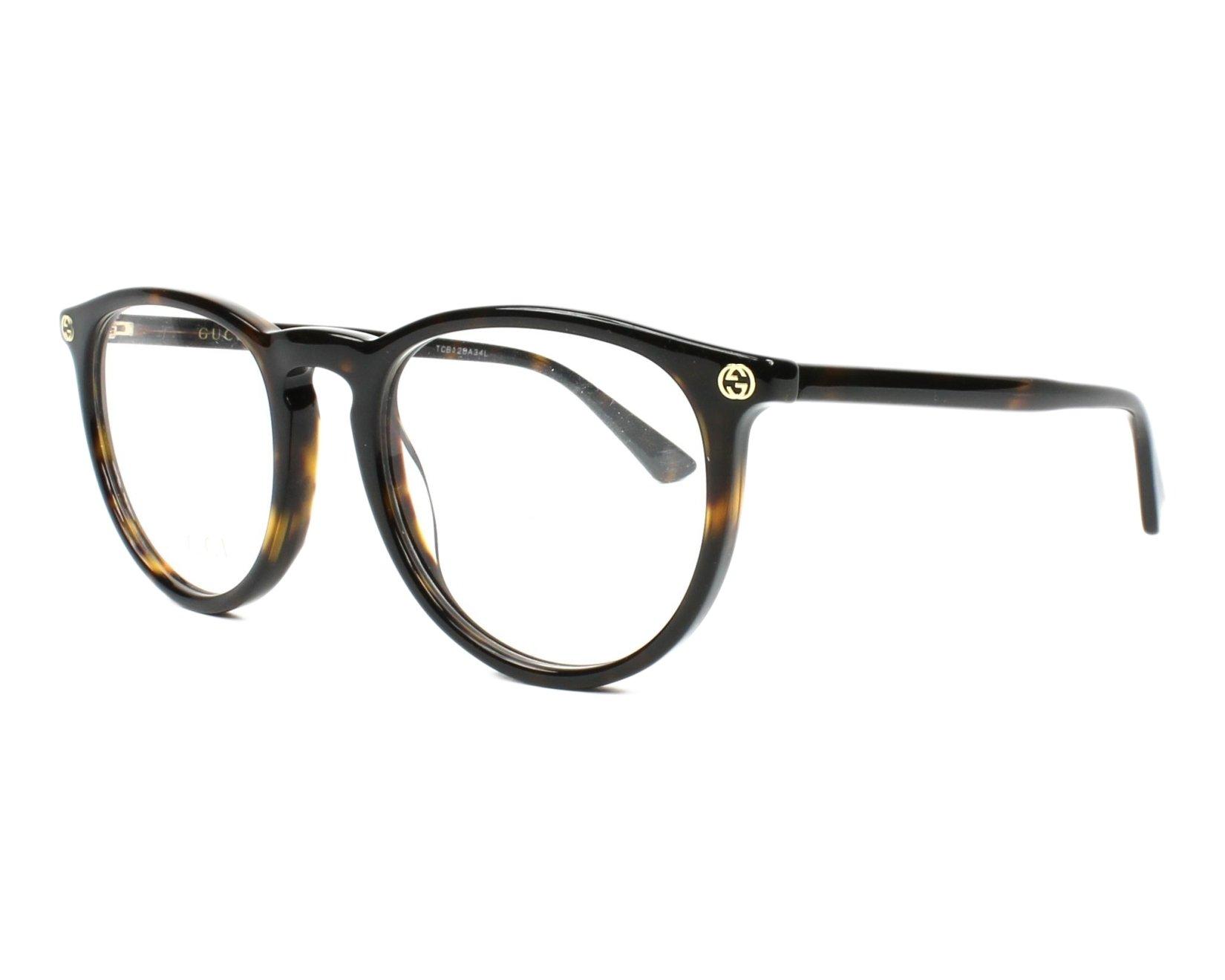 184a0b3d7 Galleon - Gucci Women's Gg0027o 50Mm Optical Glasses