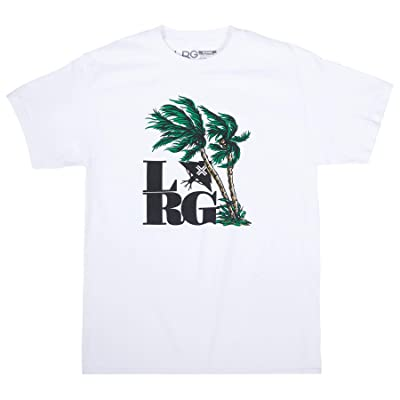 LRG Men's Gusty Palms Tee: Clothing