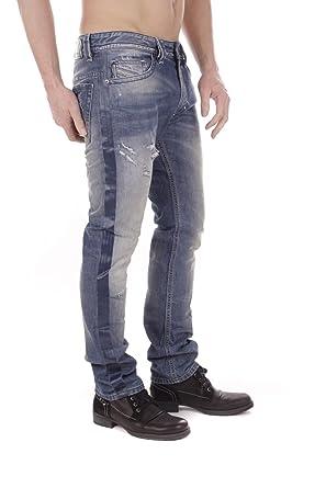 c328ec8a Diesel Thavar 0852M Men's Jeans Trousers Slim Skinny: Amazon.co.uk: Clothing