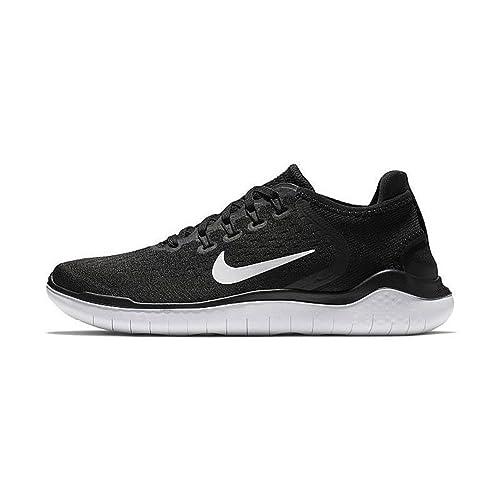 Nike Free Rn 2018 (gs) Big Kids Ah3451-001 Size 4 Black/
