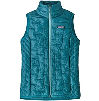 Patagonia Ws Micro Puff Vest Chaleco, Mujer, mako Blue, ...