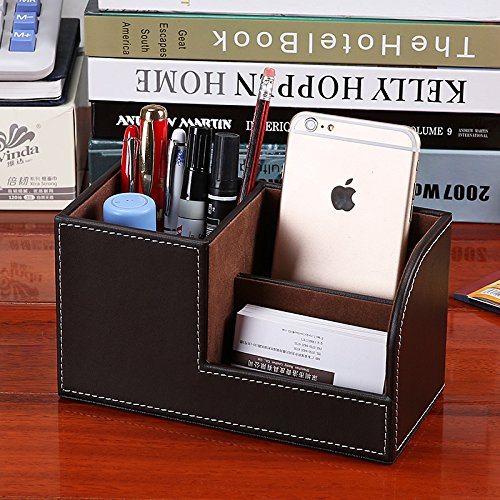 Multifunktions-Schreibwaren Aufbewahrungsbox Aufbewahrungsbox Aufbewahrungsbox Büro Tischdekoration Stifthalter, weiß B07PWK27BN     | Neuankömmling  fe919d