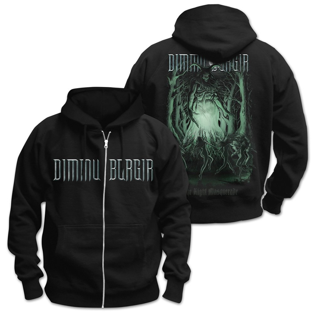 Dimmu Borgir Eonian The Night Masquerade Kapuzenjacke Zipper Hoodie (XXL)