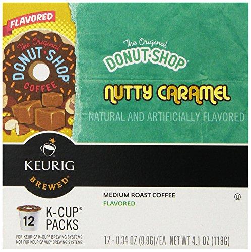 The Original Donut Shop Nutty Caramel, Keurig K-Cups, 72 Count