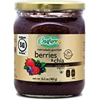 Enature Mermelada de Berries con Chia, 460 g