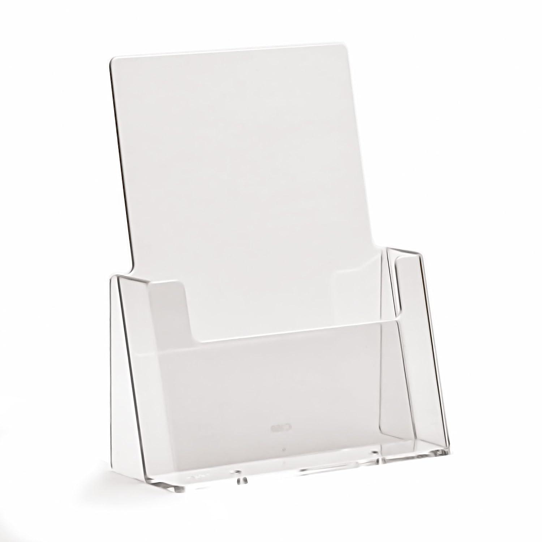 TAYMAR® C160 - Espositore per opuscoli e poster formato DIN A5, trasparente TAYMAR®