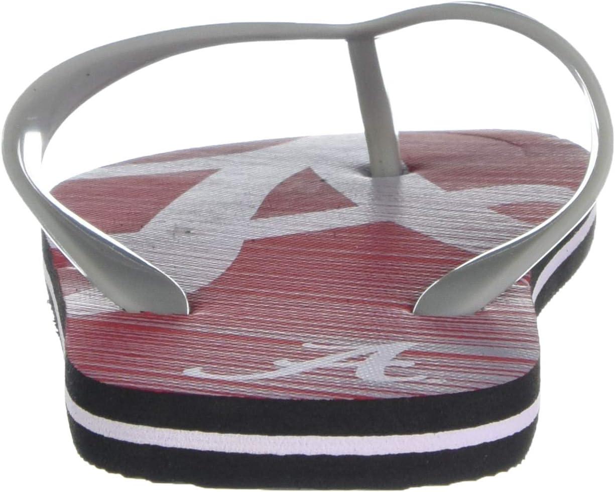 NCAA Unisex Stripe Fade FLIP Flop
