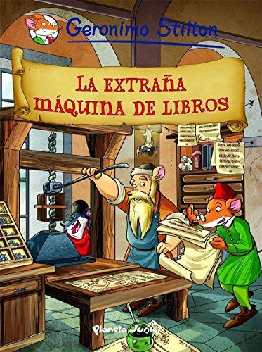 Amazon.com: La extraña máquina de libros: Cómic Geronimo ...