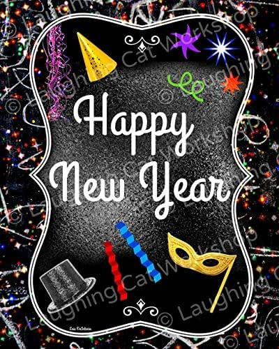 Amazon.com: New Years Decor, Happy New Year Decor, New ...