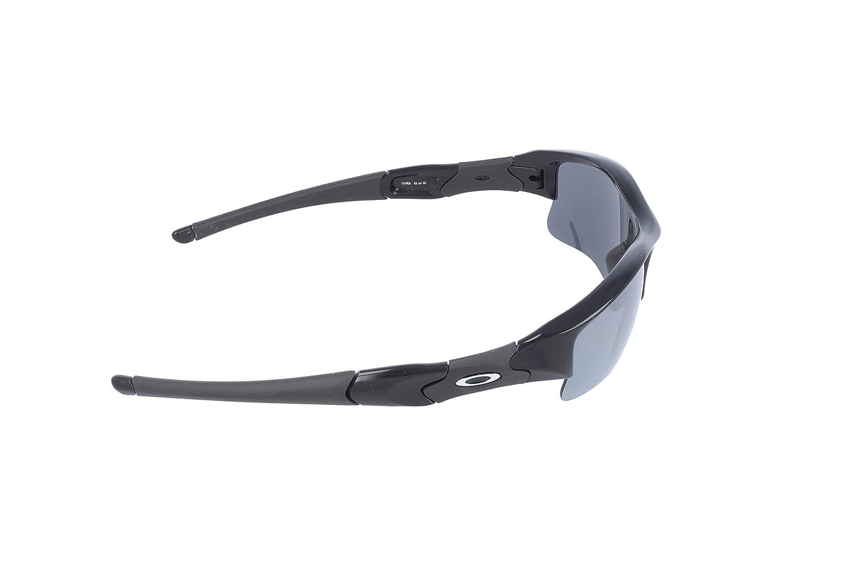 Amazon.com: Oakley Men's Flak Jacket XLJ 12-903 Sunglasses,Jet Black  Frame/Black Iridium,one size: Oakley: Shoes