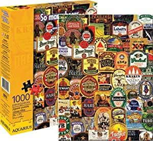 Aquarius So Many Beers 1000 Piece Jigsaw Puzzle