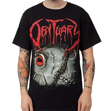 Men's T Cause Death Black Et ShirtVêtements Obituary Of qRA435jL