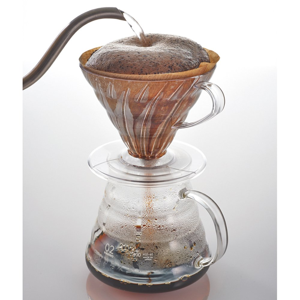 Amazon Hario V60 Plastic Coffee Dripper Size 01 Clear