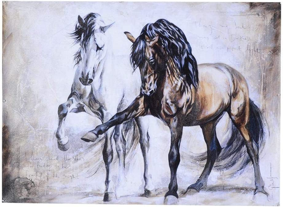 Pintura Lienzo, Arte de Pared, Retro, Arte de Pared, Figura Animal, Arte Abstracto de Pared, Pintura al óleo Lienzo, Pintado, Póster Sala de Estar, Comedor(40 * 57cm)
