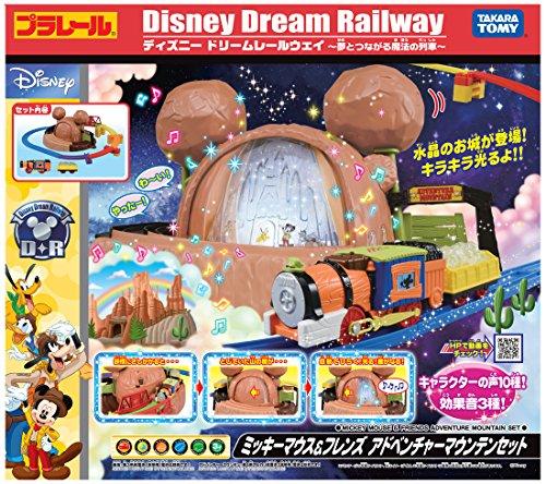 Plarail Disney Dream Railway Mickey Mouse Friends Adventure Mountain Set Japan Ebay