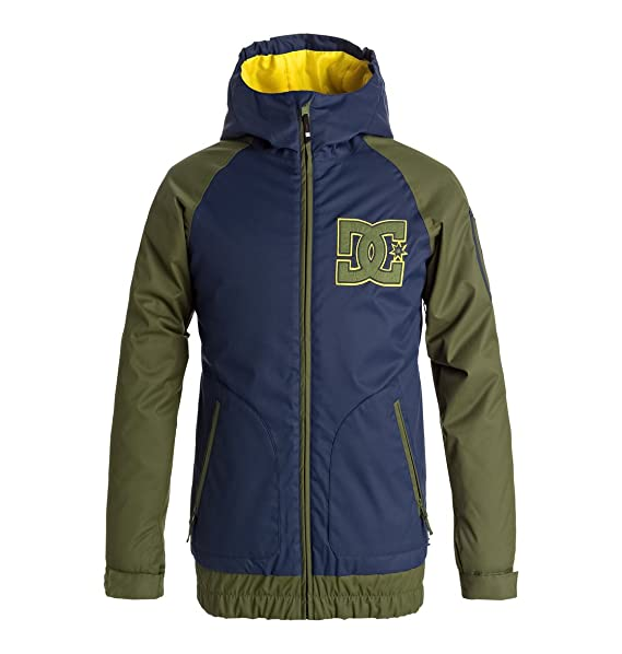 DC Shoes Troop - Chaqueta para Nieve para Niños 8-16 EDBTJ03019: DC Shoes: Amazon.es: Ropa y accesorios