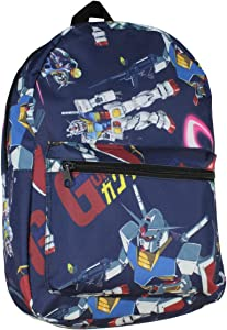 Mobile Suit Gundam RX-78-2 All Over Print Sublimated Backpack With Laptop Sleeve