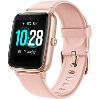 Arbily Smartklocka för kvinnor, IP68 vattentät smartklocka med 3 cm stor färg full pekskärm fitnessklocka med pulsmätare…