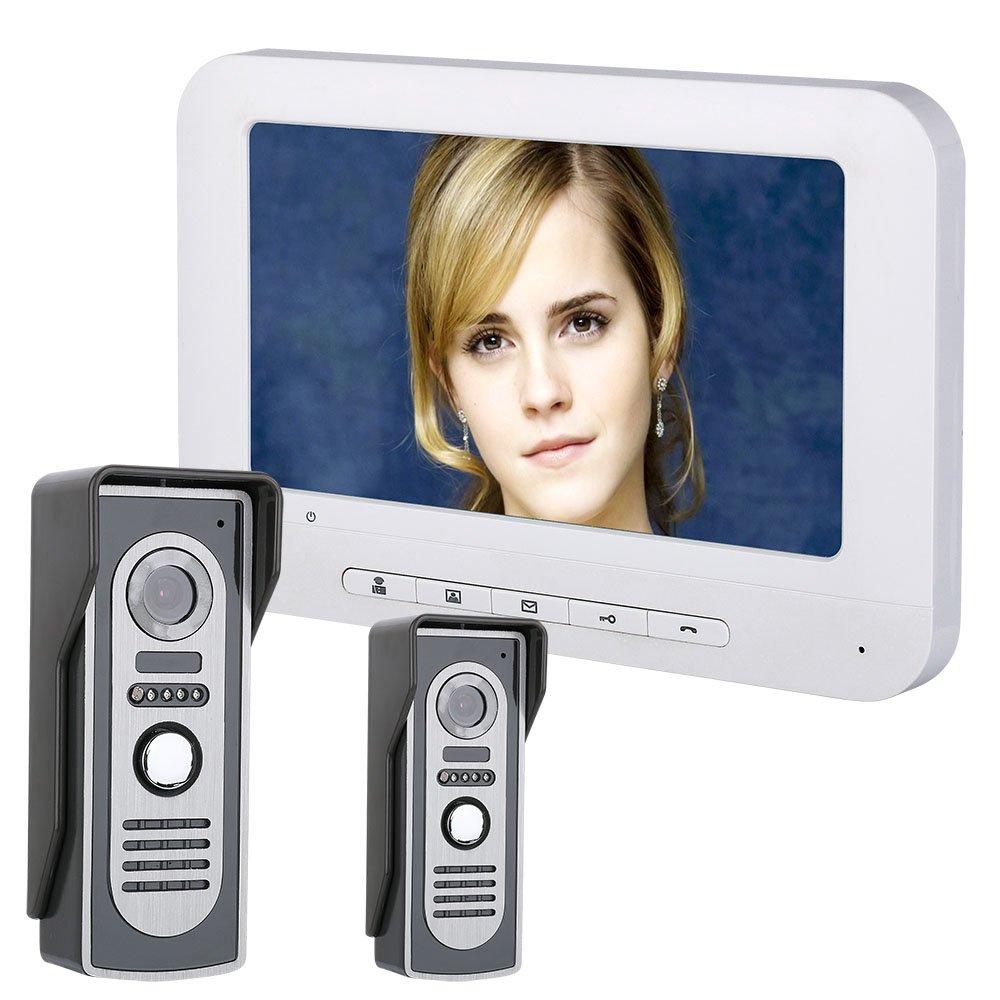 適切な価格 7インチスマートビデオドアベル電話インターホンドアベルと監視ナイトビジョン700TFT B07PPG6DRJ カメラ カメラ B07PPG6DRJ, 家具インテリア大川家具通販:6624621b --- arianechie.dominiotemporario.com