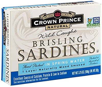 Crown Prince Natural Brisling Sardines