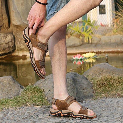 24 pantofole Wagsiyi 3 Sports 27 Outdoor Confortevoli CM Men's 39 5 Scarpe Sandal da Sandali 0 Dimensione 1 Colore spiaggia EU E Marrone Grigio Antiscivolo zBFPBdw