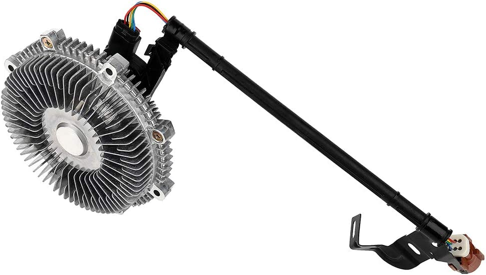 ROADFAR Electronic Radiator Cooling Fan Clutch Compatible for 2006-2011 Ford Explorer 2007-2010 Ford Explorer Sport Trac 2006-2010 Mercury Mountaineer