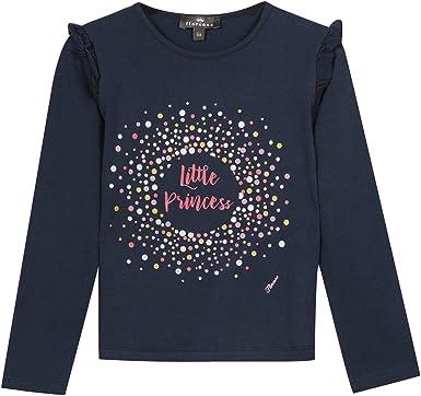 T-Shirt Manches Longues Motif Floriane