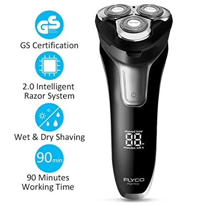 Flyco Electric Shavers Razor For Men Wet And Dry Mens Electric
