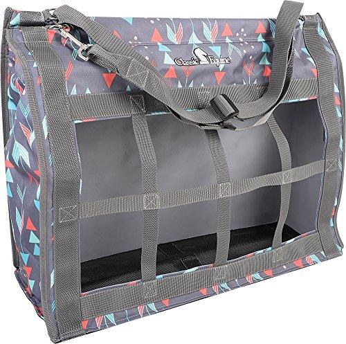 Top Arrow (Classic Rope Company Designer Top Load Hay Bag in Grey Arrow Greyarrows)