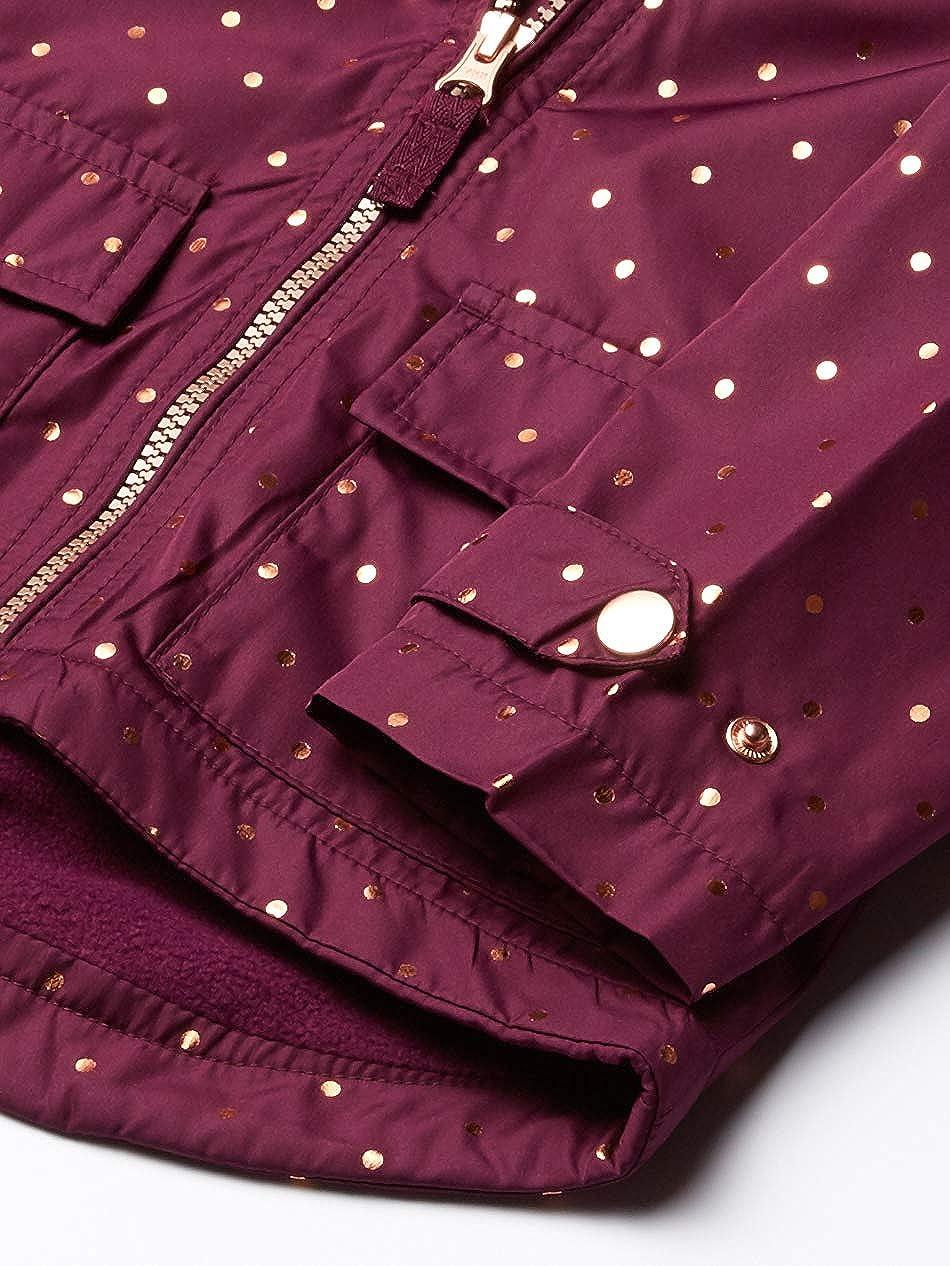 18Mo Osh Kosh Baby Girls Midweight Jacket with Fleece Lining Hearts On Lilac