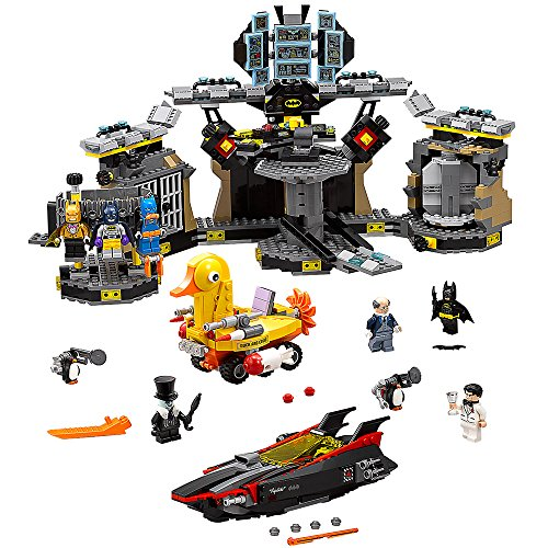 - THE LEGO BATMAN MOVIE Batcave Break-in 70909 Superhero Toy