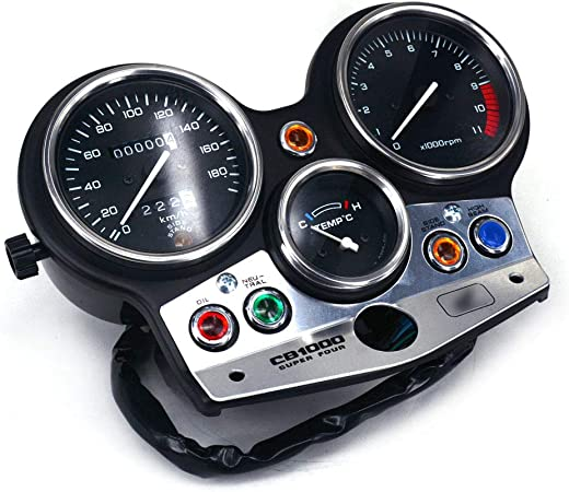 Ysmoto Motorrad Tacho Messgerät Tachometer Kilometerzähler Tacho Meter Tacho Messgerät Für Honda Cb 1000 Cb 1000 Cb1000 1994 1998 94 98 Motorrad Street Bike 180 Turn Auto