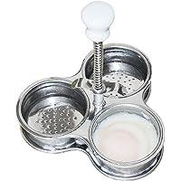 upxiang acier inoxydable Cuit-œufs Petit Déjeuner œufs Bouilloire Bouilloire Bouilloire Pot panier vapeur Pocher Cuiseur Vapeur alimentaire
