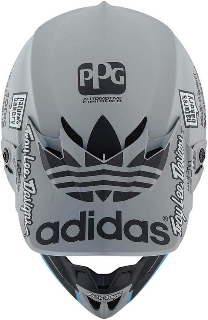 Grau Troy Lee Designs Helm SE4 Polyacrylite Team Edition 2