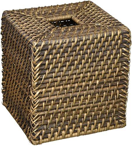 Kouboo 1030088 Laguna Square Rattan Tissue Box Cover