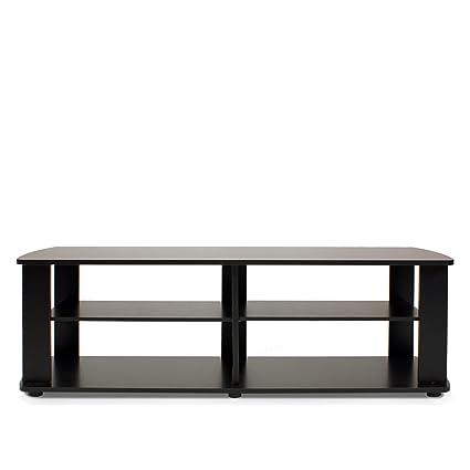Fine Furinno 11191Bk The Entertainment Center Tv Stand Black Short Links Chair Design For Home Short Linksinfo
