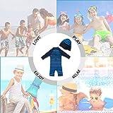 upandfast Toddler 3/4 Sleeve Rashguard Baby Beach
