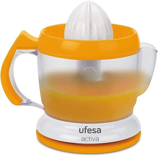 Ufesa EX4939 Activa - Exprimidor eléctrico, 40W, 1L, 2 conos, Giro ...