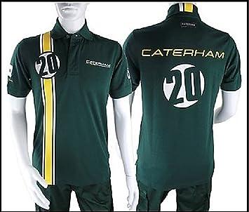 Caterham F1 Team Formula One Heikki Kovalainen - Polo para hombre: Amazon.es: Deportes y aire libre