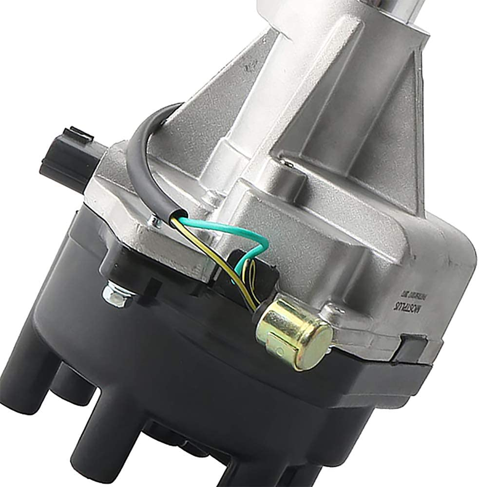 LaMulaAuto Ignition Distributor 22100-1W600 22100-7B001 NS40 for Truck Frontier Xterra Quest Pickup V6 1996-2004 VG33