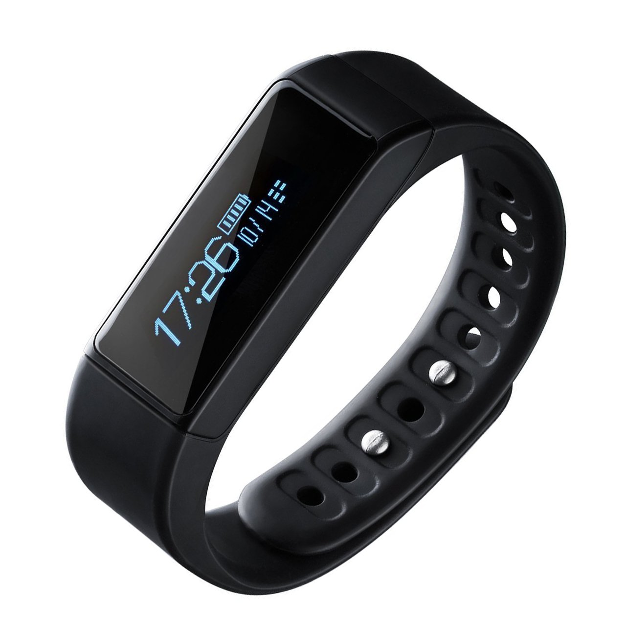 Fitness Tracker,Wireless Trackers Smart Bracelet with Heart Rate Monitors for IOS Android Activity