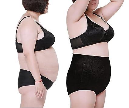 87951eca215df Gudessly High Waist Shapewear Tummy Control Slim Panty Smoothing Boyshort  Thong Briefs Plus Size Black Skin