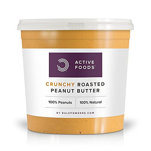 Natural Roasted Peanut Butter Crunchy Tub, 1 kg