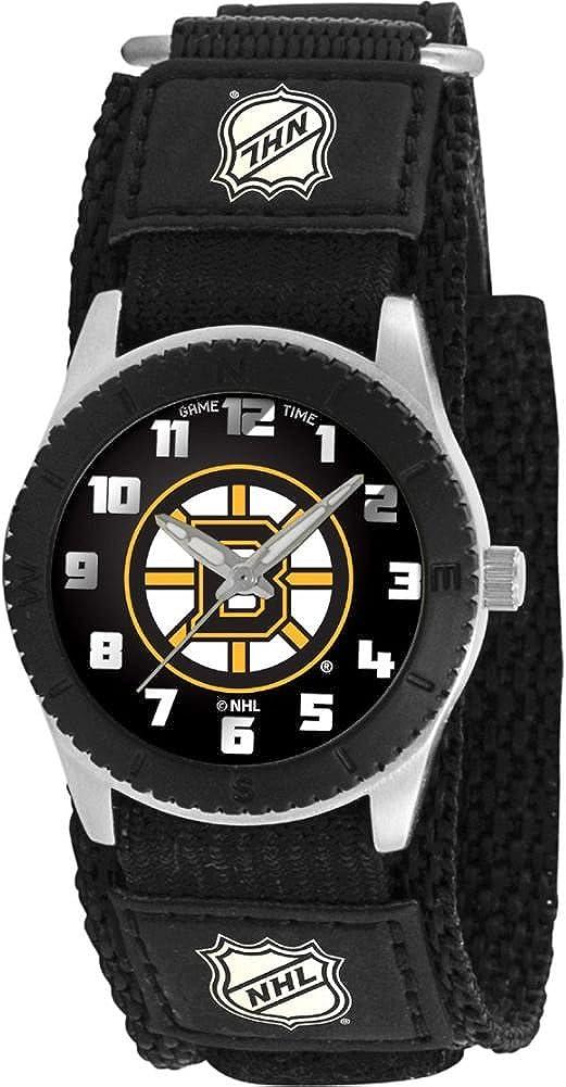 Game Time Unisex NHL-ROB-BOS Rookie Black Watch – Boston Bruins