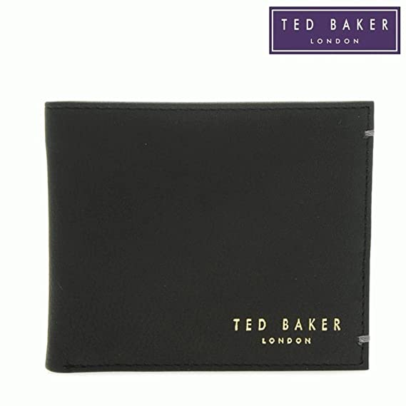 98050c0f3beca Ted Baker Antonys Bifold Leather Wallet - Black