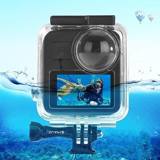 PULUZ - Carcasa Impermeable para cámara de acción Gopro MAX, 45 m, Sumergible bajo el Agua: Amazon.es: Electrónica