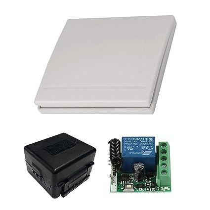 YLXT Smart Home Universal 1CH DC 12V Wireless Remote Switch